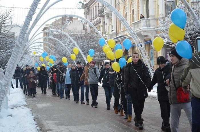 Франківцям пропонують взяти участь в акції «Ланцюг єднання»