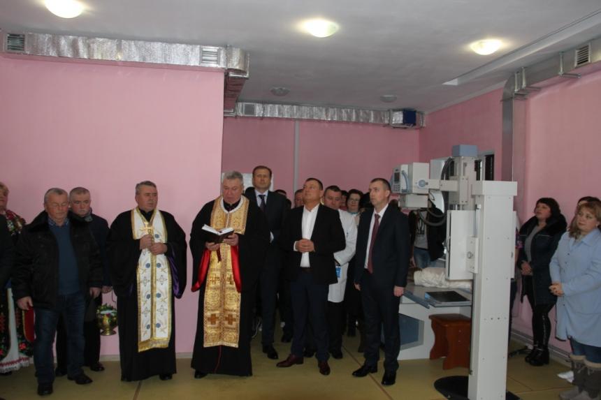 Брошнів-Осадська лікарня поповнилася сучасним рентгенкабінетом (фоторепортаж)