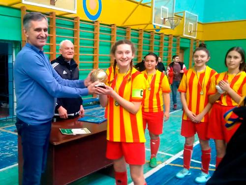 Юні футболістки з Городенківщини здобули перемогу в обласному турнірі