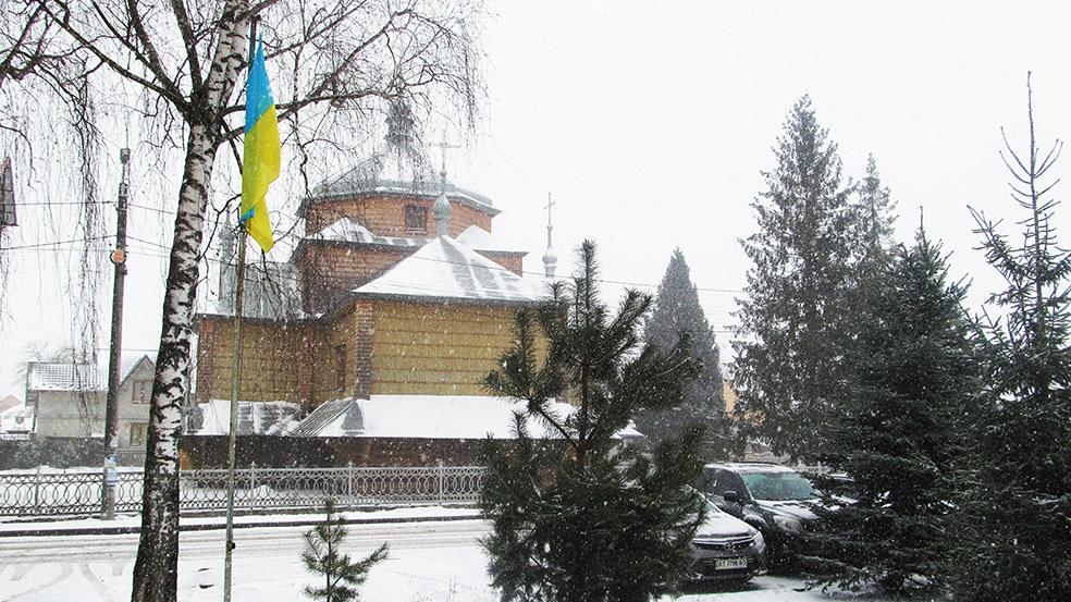 Давня церква Архістратига Михаїла УГКЦ у Вовчинці