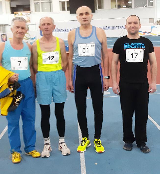 Ярослав Остафійчук, Василь Кричун, Володимир Василюк, Тарас Помф'юк (зліва направо)