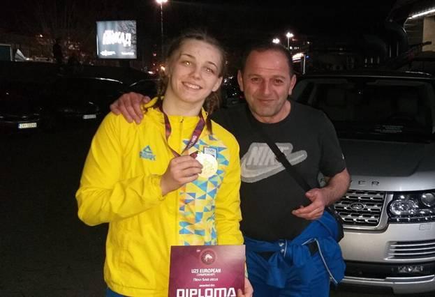 Прикарпатка здобула бронзу на чемпіонаті Європи з боротьби
