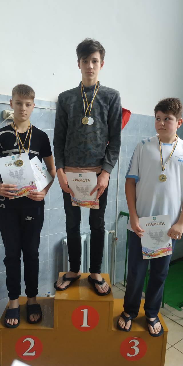 Юні долиняни здобули нагороди на чемпіонаті області з плавання