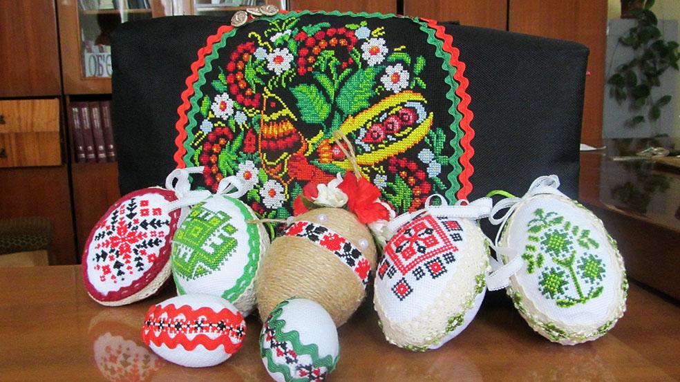 Великодні яйця у «вишиванках»