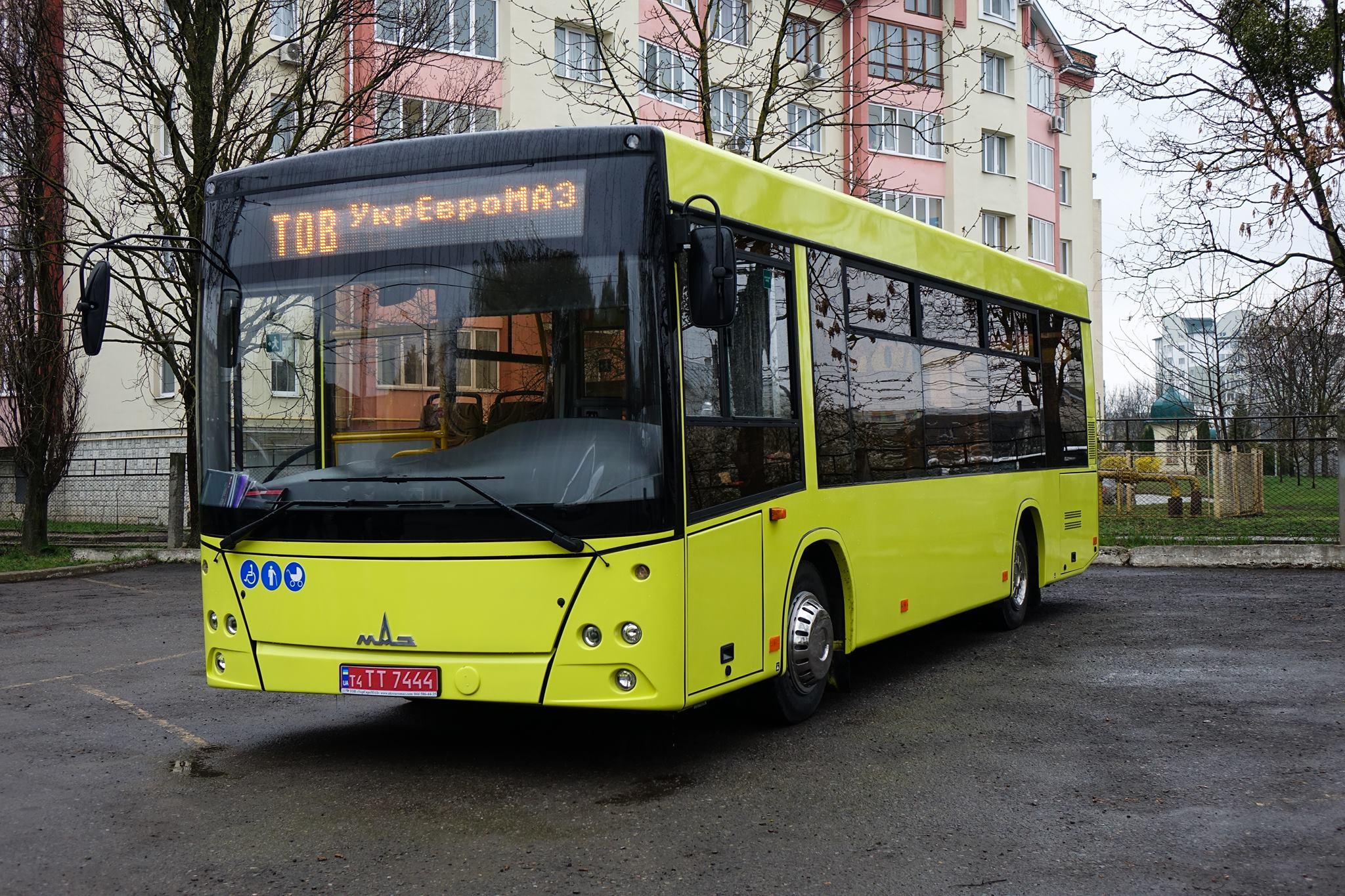 Івано-Франківськ планує придбати ще один білоруський автобус (фотофакт)