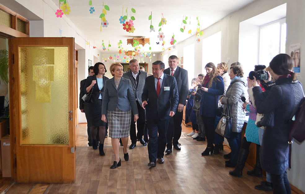 Візит Лілії Гриневич до Івано-Франківської дитячої клінічної лікарні