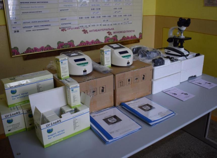 Для медичних закладів Прикарпаття закупили обладнання (фотофакт)