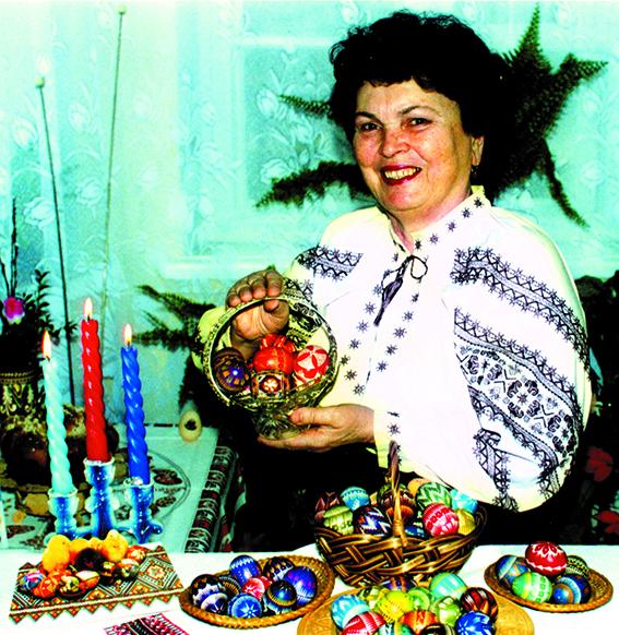 Майстриня народної творчості Ольга Федоришин
