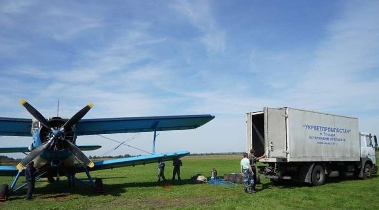 На Долинщині з літаків розкидатимуть приманки з вакциною від сказу