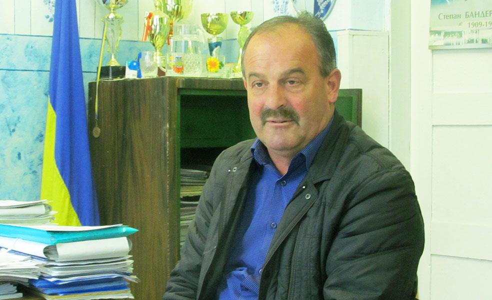 Голова Олешанської сільської ради ОТГ Богдан Двояк