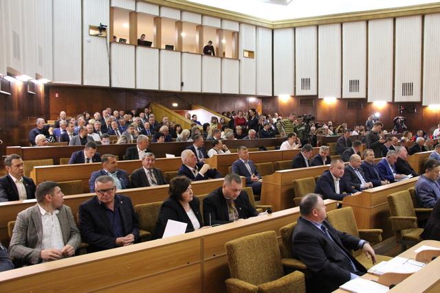 На сесії Івано-Франківської облради розглянули більше півсотні питань