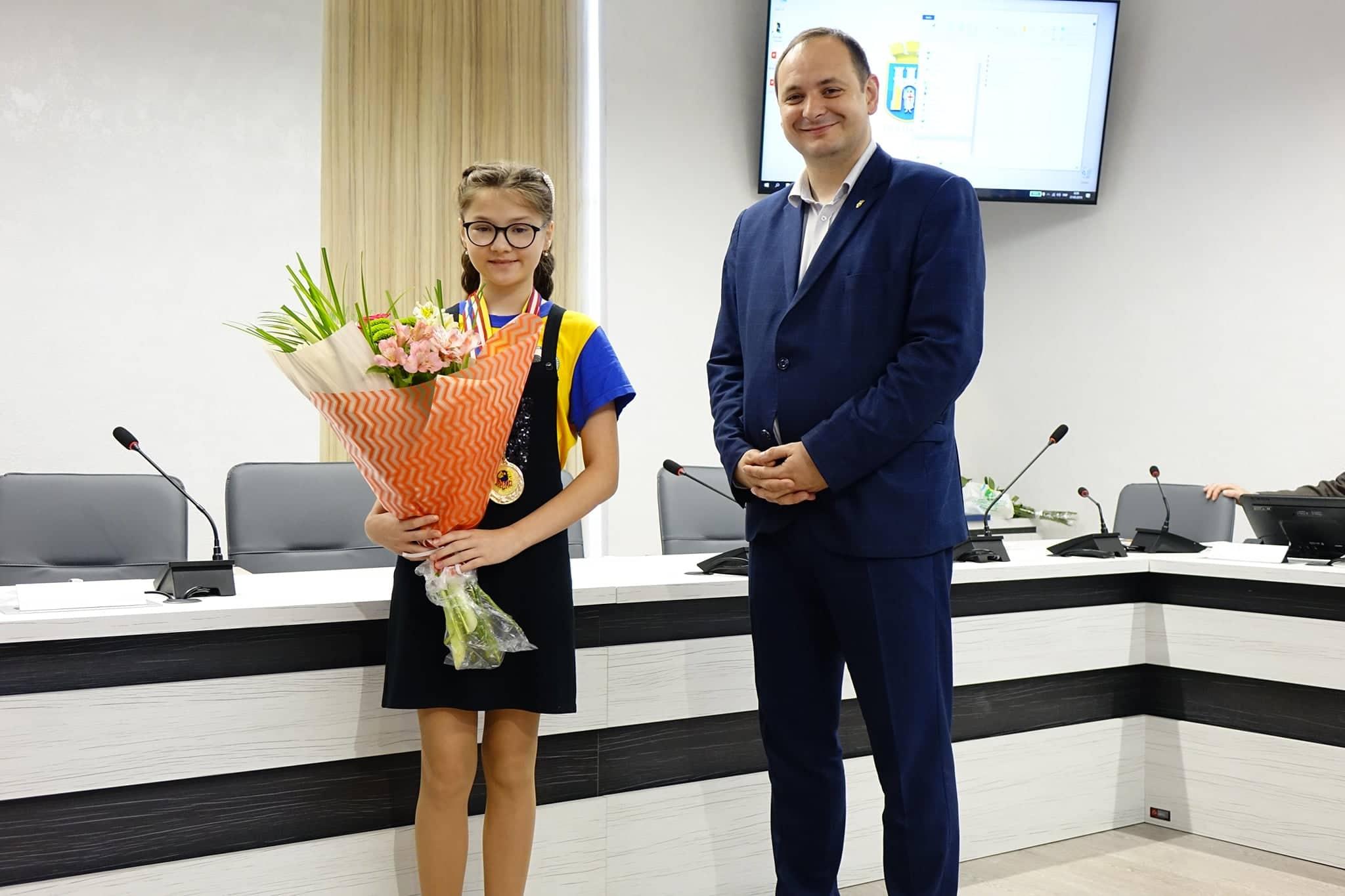 Юна франківчанка перемогла на чемпіонаті Європи з шашок
