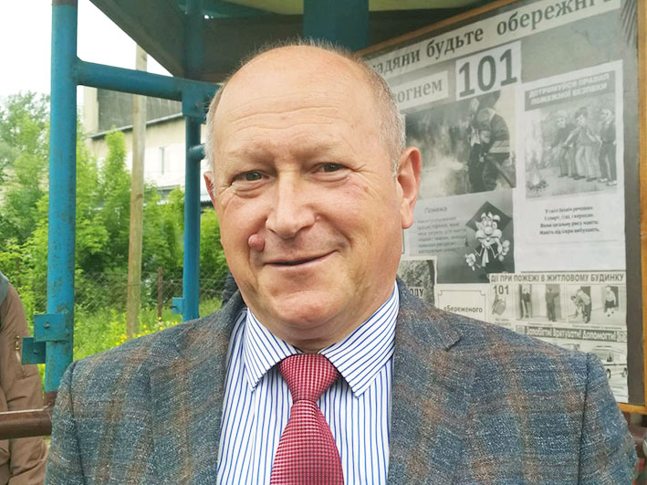 Голова Заболотівської ОТГ Іван Танюк