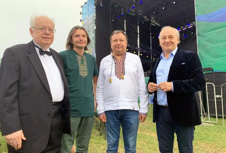 Мирослав Скорик, Іван Небесний, Микола Княжицький та Іван Малкович