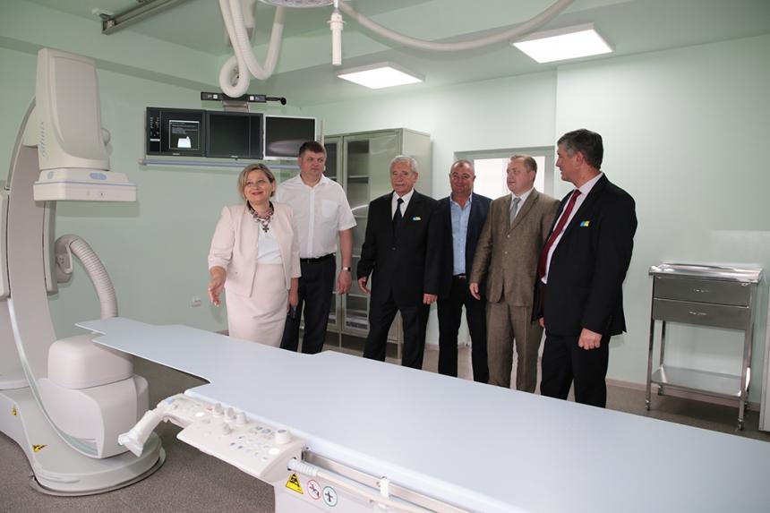 В Івано-Франківську відкрили нове відділення для лікування серцевих недуг (фоторепоротаж)