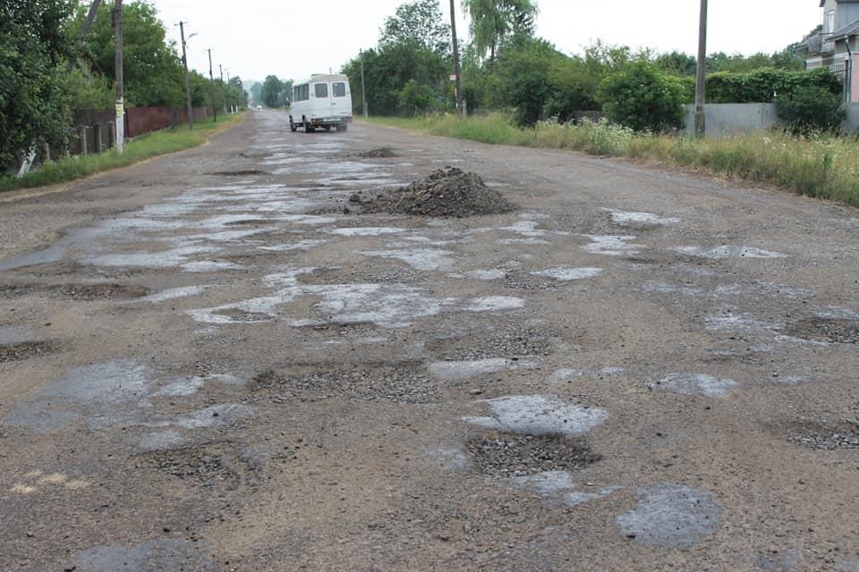 На Калущині відремонтують дорогу Миколаїв-Калуш
