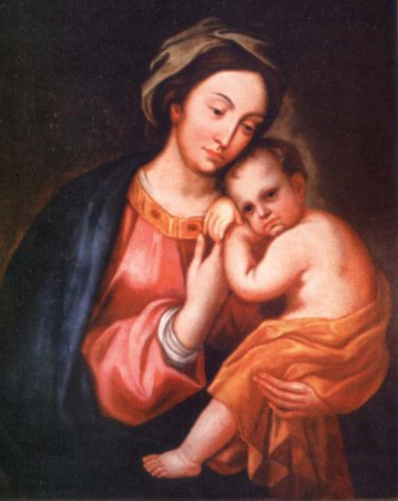 Фоторепродукція Чудотворної ікони Маріямпільської Матері Божої