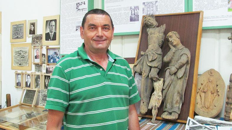 Директор Музею історії Делятинщини Андрій Мисюк