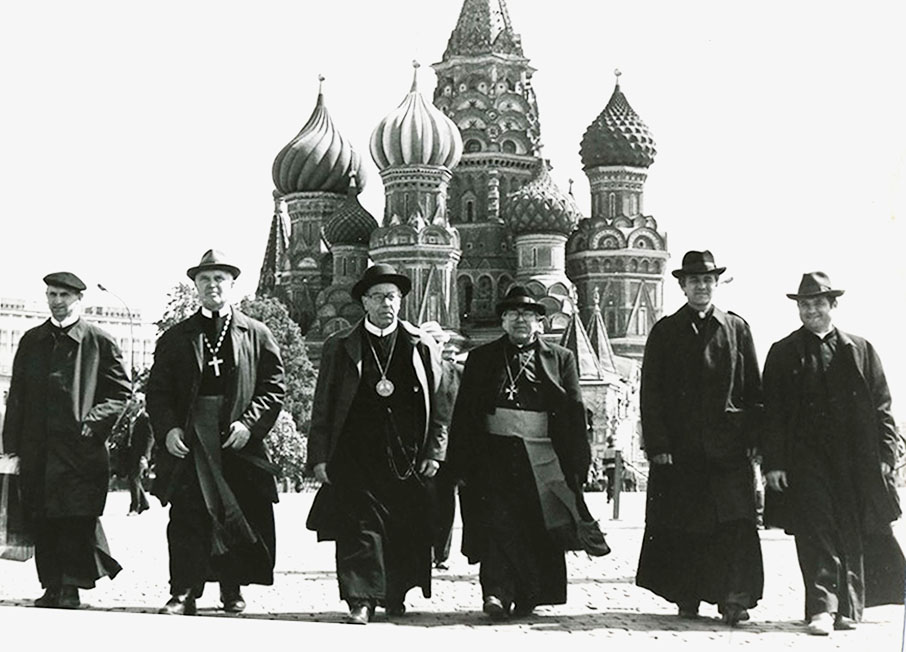 Владики й отці підпільної УГКЦ під час голодування у Москві