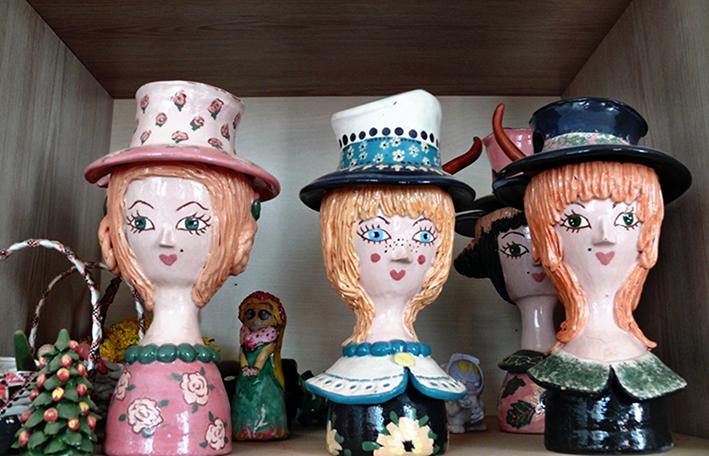 Цукерниці «Пустоголові дівчатка»