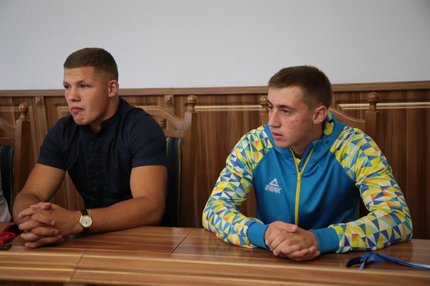 В Івано-Франківську відзначили призерів чемпіонату Європи з легкої атлетики