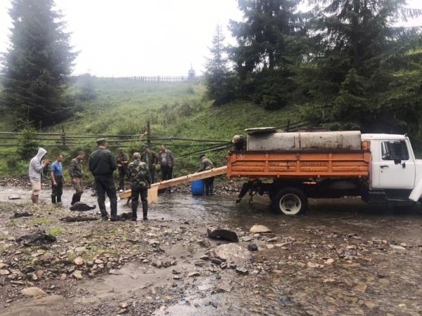 У гірські річки Прикарпаття випустили мальків форелі