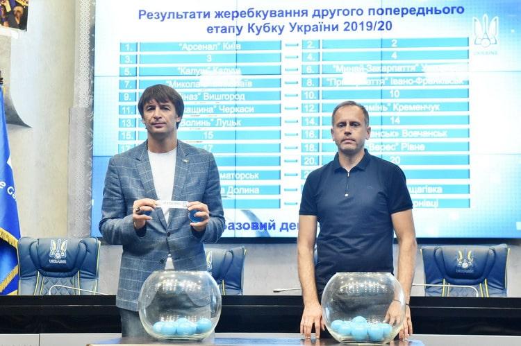 Визначились суперники «Прикарпаття» та «Калуша» у Кубку України