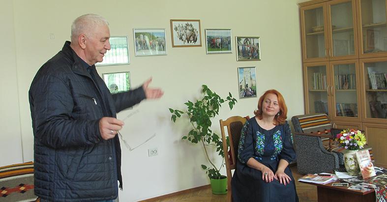 Богдан Томенчук і Руслана Битківська – у часі зустрічі в «Галичині»