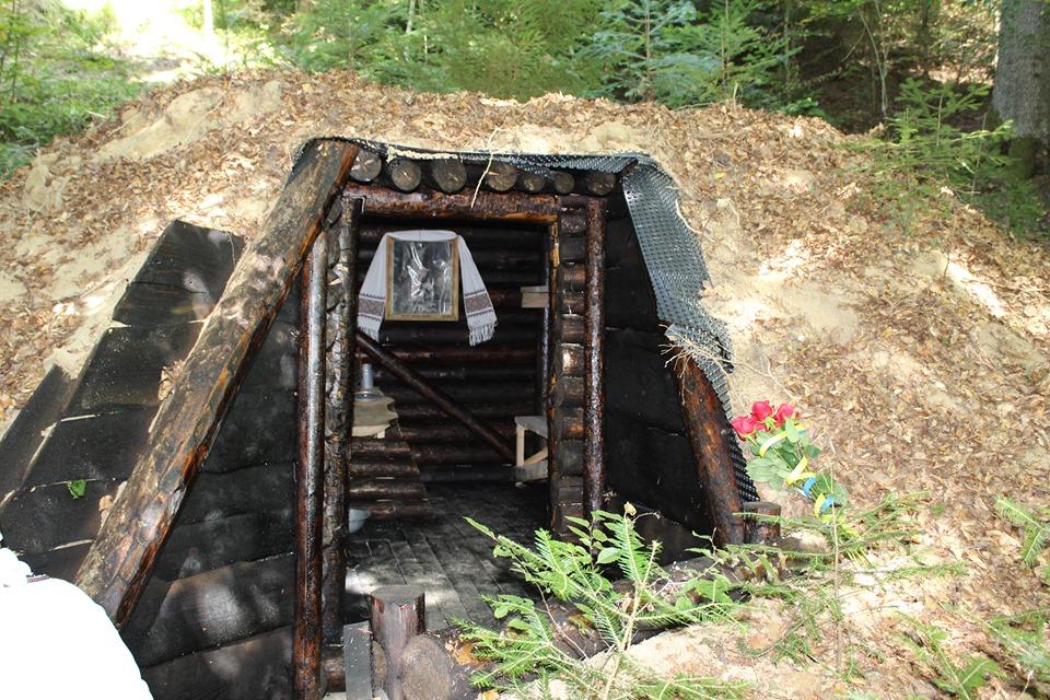 Повстанську криївку відновили на Косівщині (фотофакт)