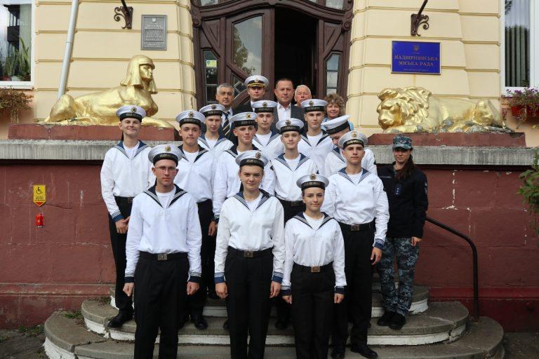 """Результат пошуку зображень за запитом """"Надвірну відвідали курсанти одеського військово-морського ліцею"""""""