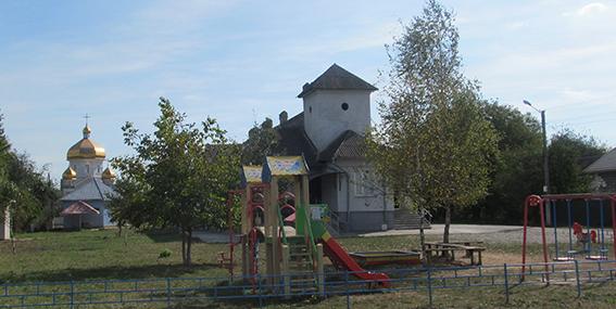 Центр села Клузова