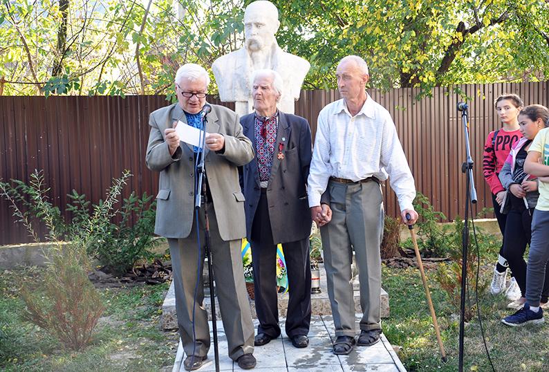 Богдан Парахоняк, Петро Парахоняк та Степан Парахоняк.