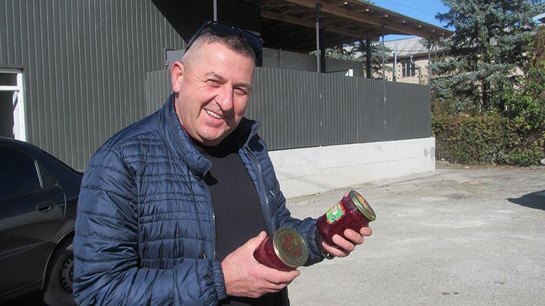 Голова сільськогосподарського кооперативу «Файний» у Печеніжині Костянтин Лапчинський.