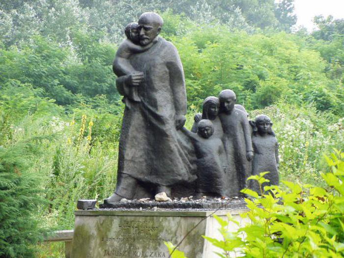 Меморіал Янушу Корчаку в Треблінці