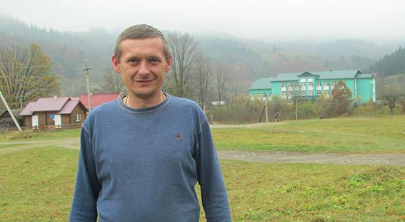 Голова Білоберізької сільської ради ОТГ Дмитро Іванюк
