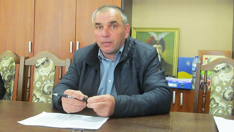 Голова Спаської сільської ради ОТГ Микола Медвідь