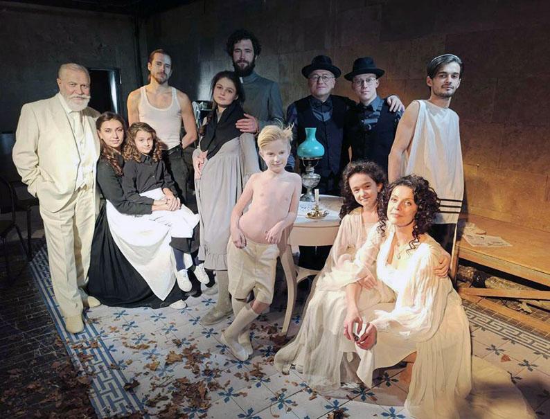 Акторська група драми «Фелікс Австрія».