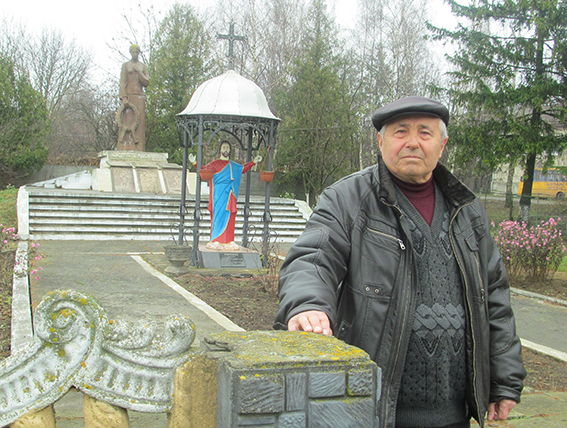 Голова Виноградської сільської ради Михайло Гоблик