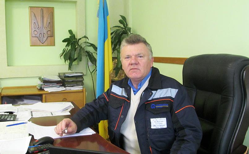 Керівник Долинського ГПЗ ПАТ «Укрнафта» Богдан Депутат.