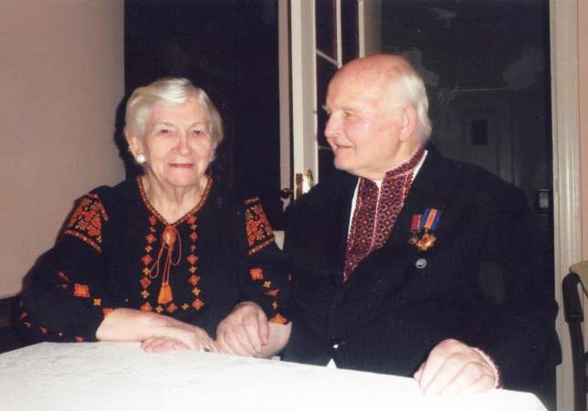 Омелян Коваль із дружиною (Львів)