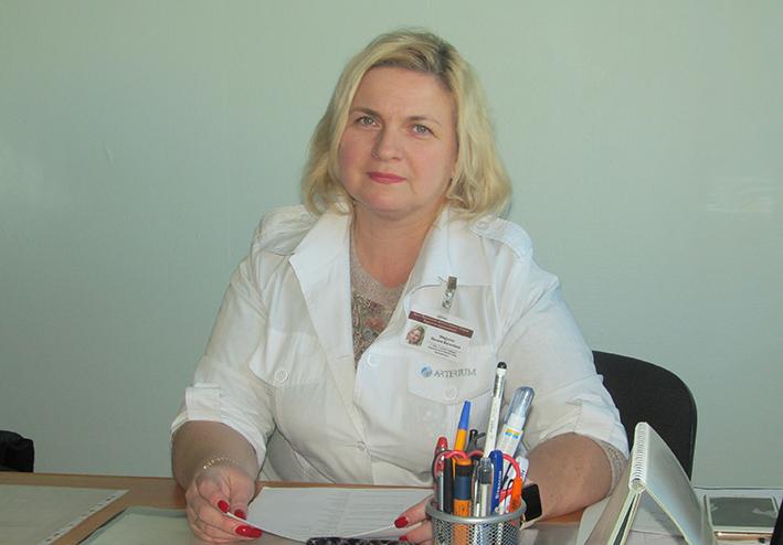 Оксана Марусин, експерт з ендокринології ДОЗ Івано-Франківської ОДА