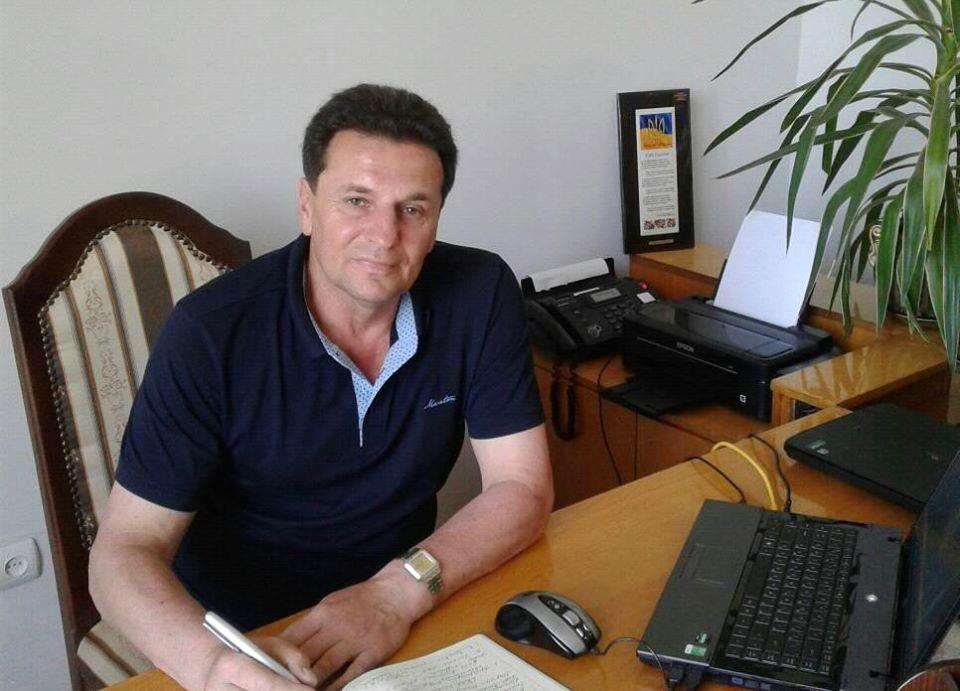 Голова Вигодської селищної ради ОТГ Ярослав Наум.