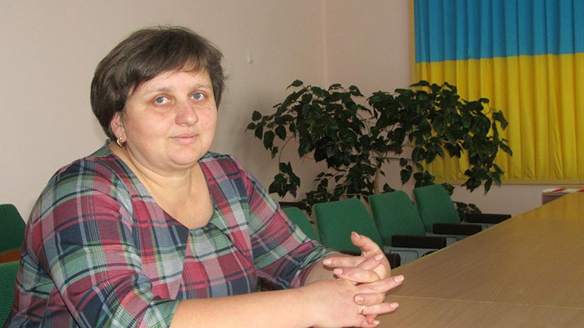 Голова Підгайчиківської сільської ради ОТГ Лідія Марусяк.