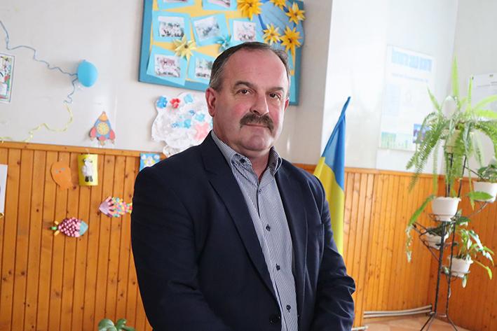 Голова Олешанської ОТГ Богдан Двояк.
