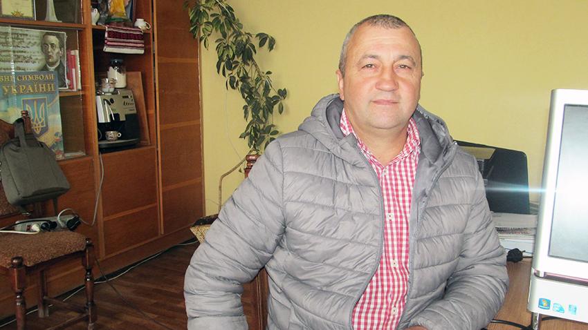 Голова Чернятинської сільської ради Роман Барик.