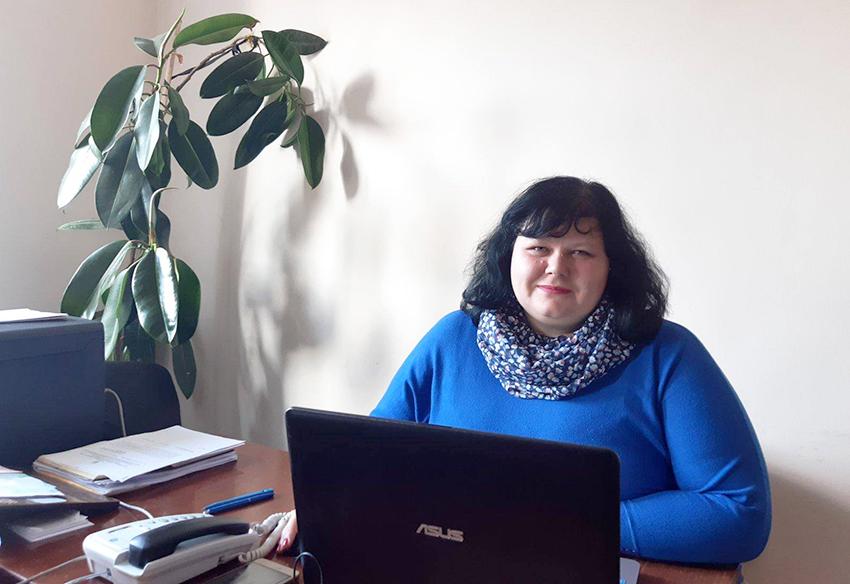 Проєктний менеджер Букачівської ОТГ Тамара Гаргат.