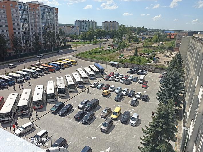Паркувальний майданчик – територія напруги.