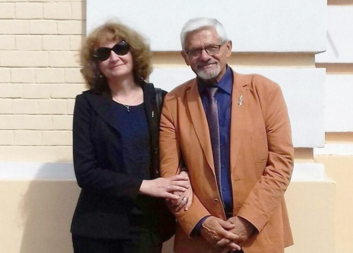 Світлана Бреславська з Казімежом Бурнатом