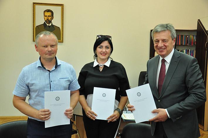 Підписання угоди про співпрацю з Прикарпатським національним університетом ім. В. Стефаника