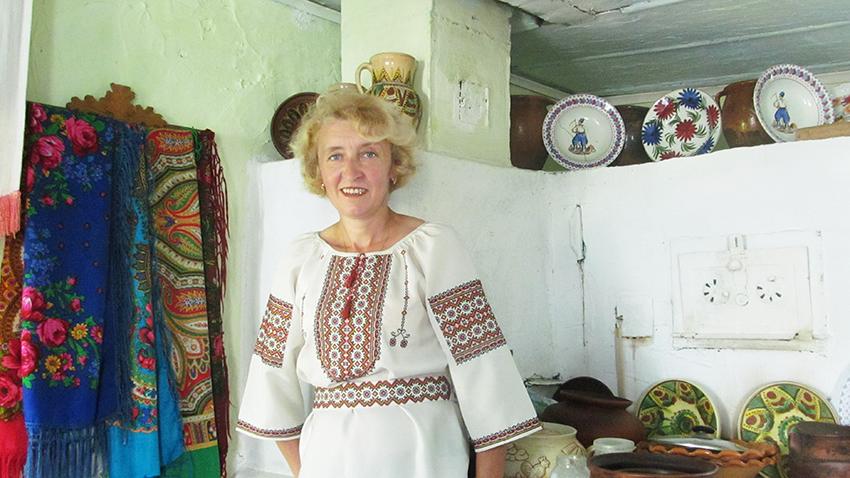 Іванна Кузеляк, засновниця зеленої садиби «Бойківські світанки» у с. Новошині.